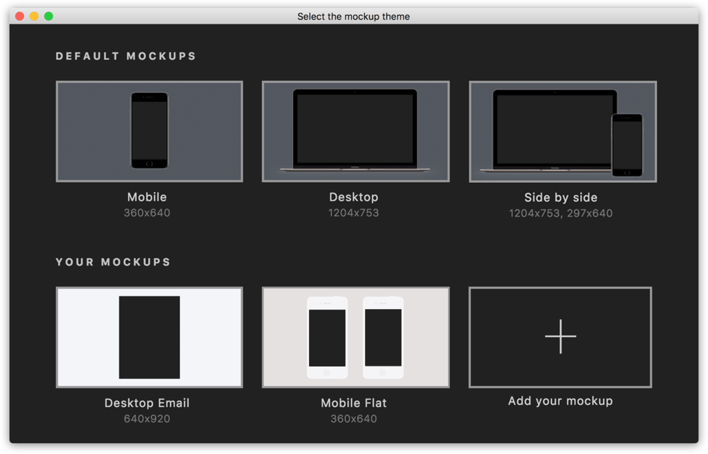 Screeener!   Insert a bunch of images to keynote magically  💫